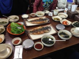 Lunch at Jeju Island